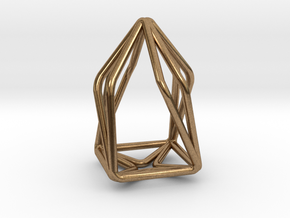 House Enmotion Pendant in Natural Brass
