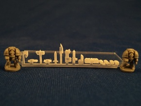 6mm Gothic Assault Weapons in Smooth Fine Detail Plastic