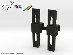 FR10013 Recovery Device Side Brackets 90 Deg in Black Strong & Flexible
