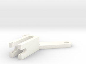 Groove-pulley-truss-a in White Processed Versatile Plastic