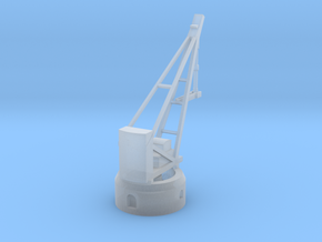 Armstrong Hydraulic Crane, Round Base in Frosted Ultra Detail