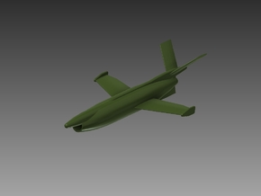 SAAB RB 08 Missile 1/96 in Smooth Fine Detail Plastic