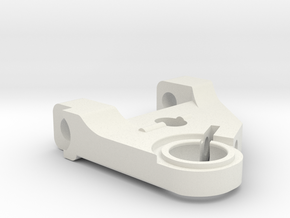 KMD-FR01 Left Lower Arm in White Natural Versatile Plastic