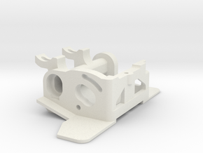 KMD-FR01 Motor Mount V2 in White Strong & Flexible