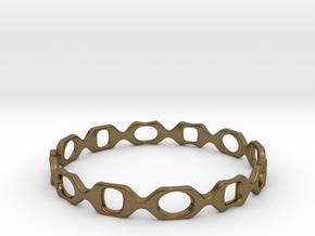 Bracelet D 2 Small in Natural Bronze