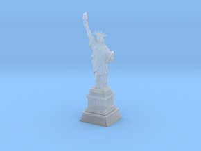 1/1000 Statute Of Liberty (3 parts) in Smooth Fine Detail Plastic