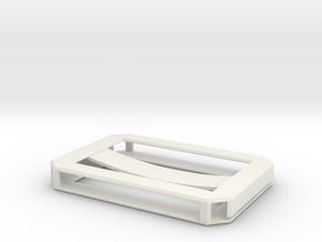 Business Card Holder in White Natural Versatile Plastic