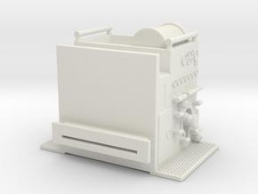 1/87 1993 Philadelphia Seagrave Pump section in White Natural Versatile Plastic