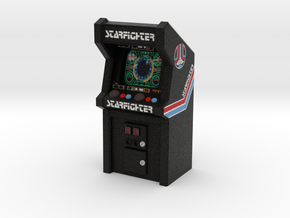 Last Starfighter Arcade Game, 35mm Scale in Full Color Sandstone