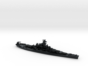 1/1800 USN BB57 South Dakota [1942] in Black Hi-Def Acrylate