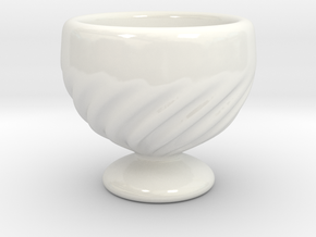 Little Goblet in Gloss White Porcelain