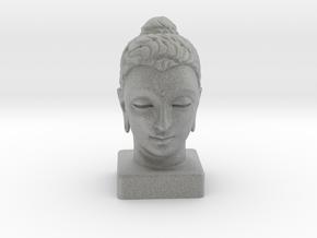 Gandhara Buddha 8 inches in Metallic Plastic
