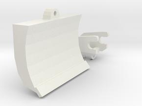1/50 330dl-336dl-336el Excavator Wristo Chuck Blad in White Natural Versatile Plastic