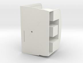 CabineBasisCPL 450 in White Natural Versatile Plastic