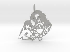 Katy Perry Fan Pendant in Aluminum: Large