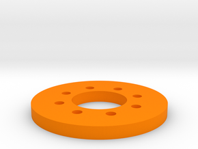 Bussard Dome Assembly - 1:1000 - 02 in Orange Processed Versatile Plastic