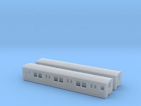 DR ET/EB 165 beiwagen  N [2x body] in Smooth Fine Detail Plastic