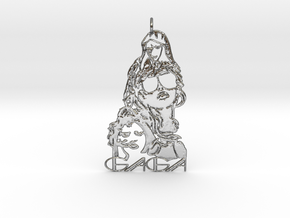 Lady Gaga Pendant - Exclusive Jewellery in Polished Silver