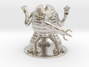 Xorn Miniature in Rhodium Plated Brass: 1:60.96
