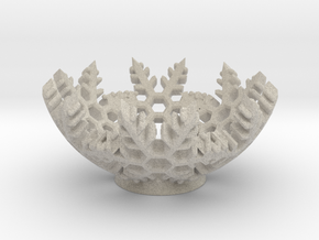 Snow Bowl in Natural Sandstone