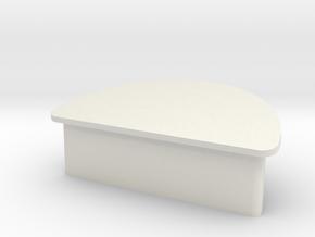 M&P Shield Grip Plug in White Natural Versatile Plastic