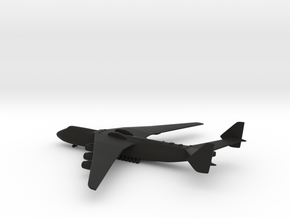 Antonov An-225 Mriya in Black Strong & Flexible: 1:700
