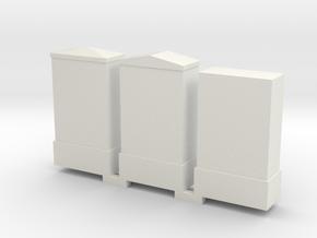 Schakel Kasten 0 H0 in White Natural Versatile Plastic