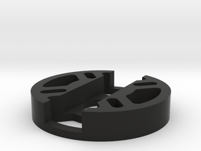 Multirotor 22 Sized Motor Mount in Black Natural Versatile Plastic