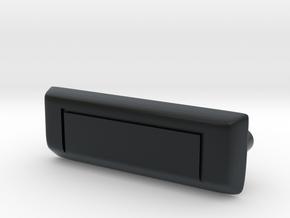 RCN012 door handle for Pro-Line Toyota SR5  in Black Hi-Def Acrylate