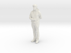 Printle C Homme 584 - 1/24 - wob in White Natural Versatile Plastic