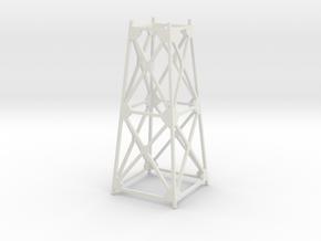 Trestle - 40foot - Zscale in White Natural Versatile Plastic