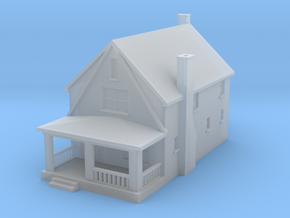 House1 in Smoothest Fine Detail Plastic