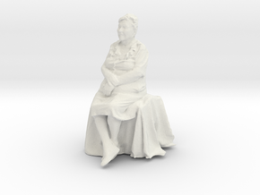 Printle C Femme 176 - 1/32 - wob in White Strong & Flexible