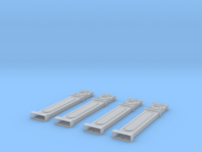 NGG-MPile01 - Large Railway Station in Smooth Fine Detail Plastic