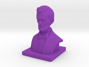 Lincoln-3.printer2 in Purple Strong & Flexible Polished