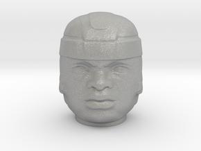 Olmec Head  in Aluminum: Small
