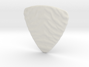 Tiger Grip Thick Pick 2 mm in White Natural Versatile Plastic