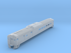 N Scale RDC-3 BCR Original Version in Smooth Fine Detail Plastic