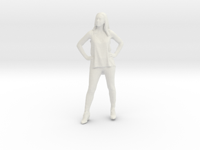 Printle C Femme 141 - 1/43 - wob in White Strong & Flexible