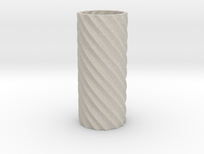 Double Spiral in Natural Sandstone
