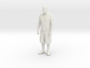 Printle C Homme 064 - 1/43 - wob in White Natural Versatile Plastic