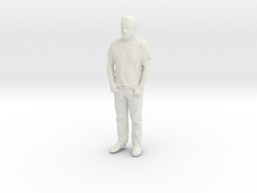 Printle C Homme 085 - 1/43 - wob in White Natural Versatile Plastic