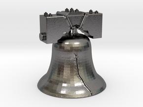 LIB-BELL-3-3-14-17.stl in Polished Nickel Steel