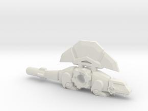 BMOG Synaxid, Dimetrodon/Axe in White Natural Versatile Plastic
