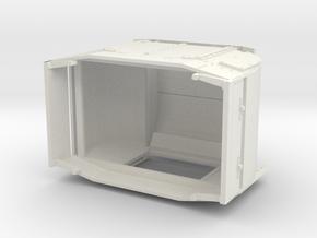 B-1-48-protected-simplex-one-door-open in White Natural Versatile Plastic