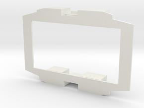 B-1-48-simplex-baseplate in White Natural Versatile Plastic