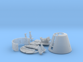 YT1300 FM 1/72 COMBO CONE SHORT COCKPIT WALLS in Frosted Ultra Detail