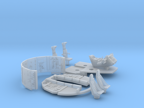YT1300 FM 1/72 COCKPIT AND WALLS SET in Smooth Fine Detail Plastic