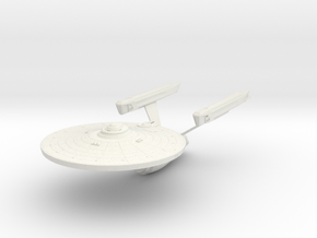 Enterprise A in White Natural Versatile Plastic