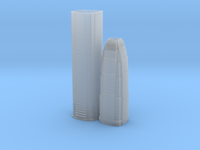 Two International Finance Centre (1:2000) in Smooth Fine Detail Plastic
